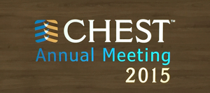 CHEST 2015: Top 4 Takeaways