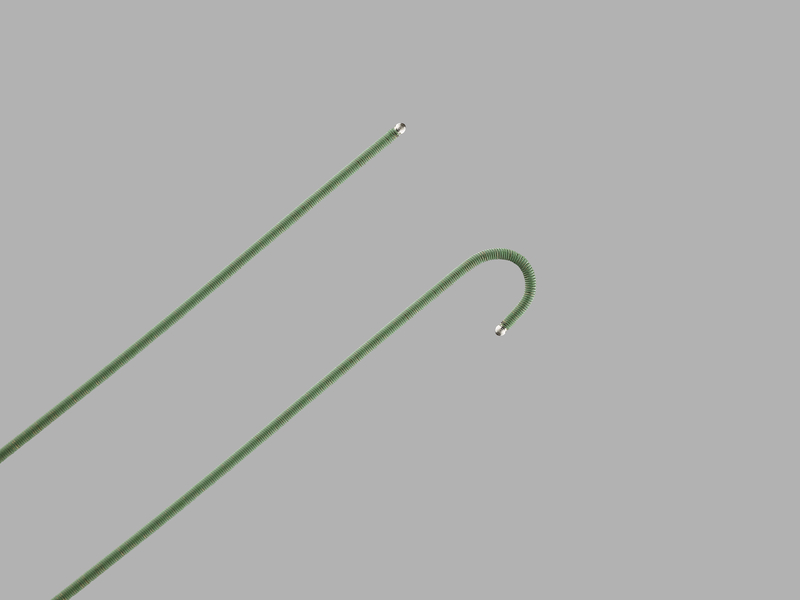 Double Flexible-Tipped Wire Guide
