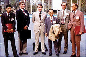 The name ERCP was approved by this working group at the Mexico City World Congress in 1974: Zazuei Ogoshi, Laszlo Safrany, Meinhard Classen, Tatsuzo Kasugai, Peter Cotton and Jack Vennes