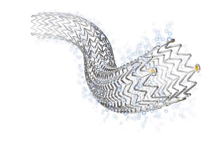 Zilver-PTX-drug-eluting-stent