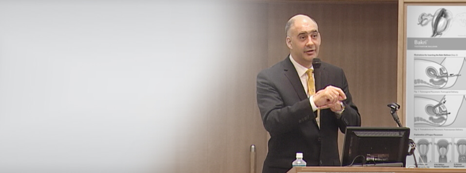 Dr. Georgiou on the successful use of the Bakri balloon in the treatment of PPH