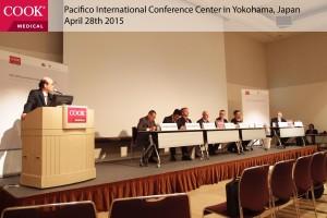 Prof. Dr. Morimoto opens the symposium.