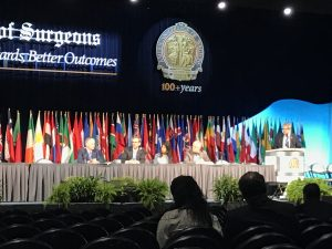 The panel of cholecystectomy experts spoke in one of the main meeting halls at the San Diego convention center.