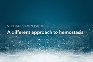 A different approach to hemostasis symposium