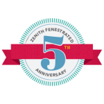 Zenith Fenestrated 5th Anniversary Logo
