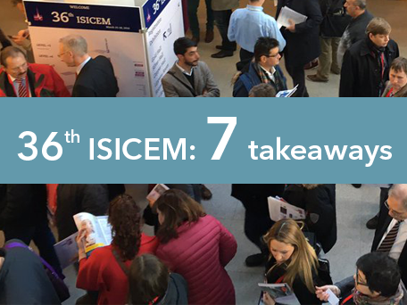 36th ISICEM: 7 takeaways