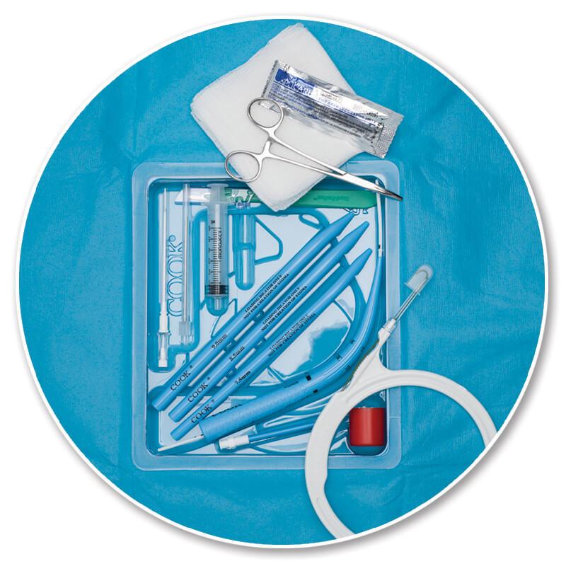 Blue Rhino G2-Multi Percutaneous Tracheostomy Introducer Set