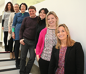 The Cook Ireland Endoscopy team that worked together to produce the Cook Book.